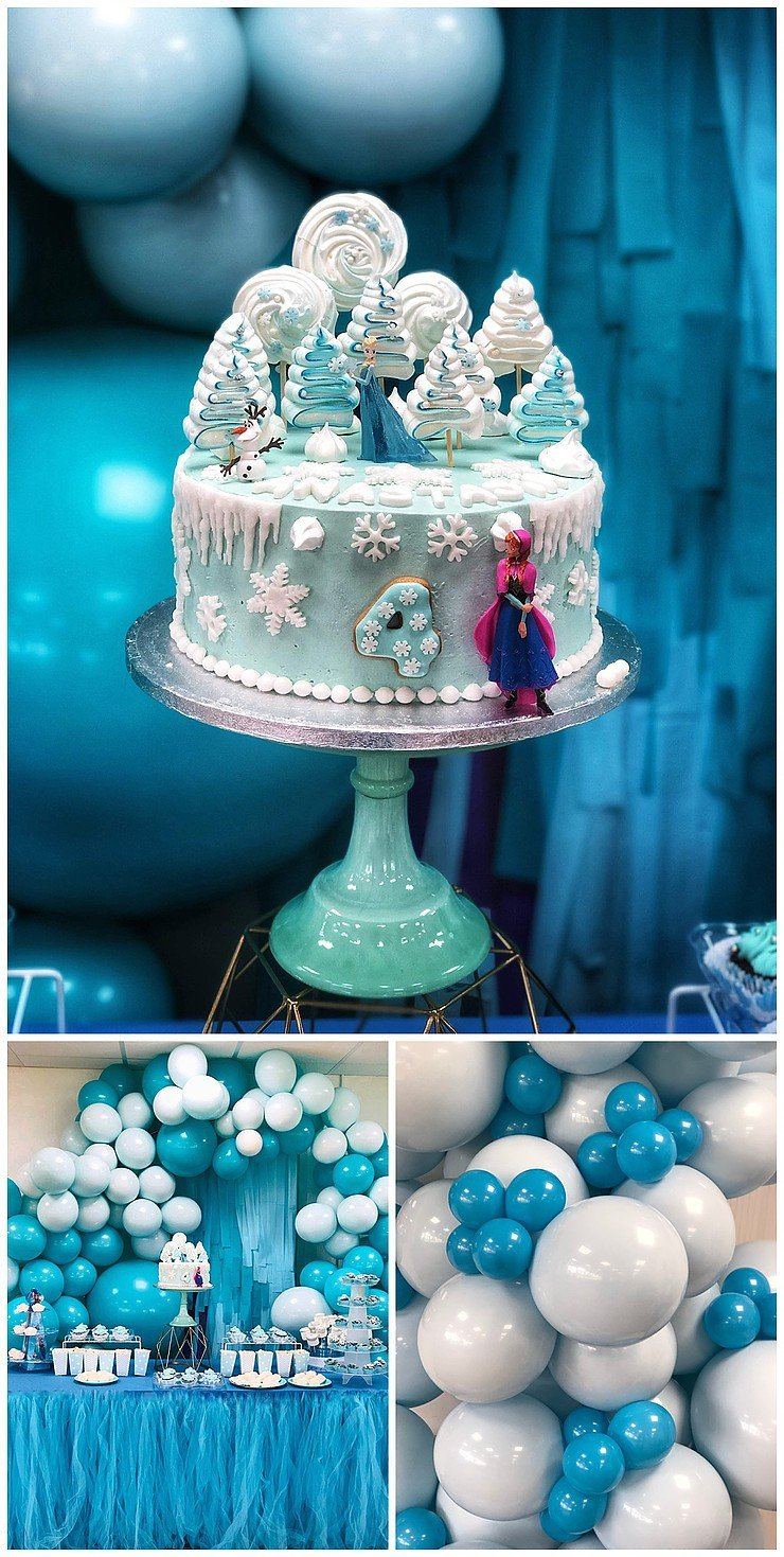 A Frozen Birthday Party From Balloonista 002.jpg