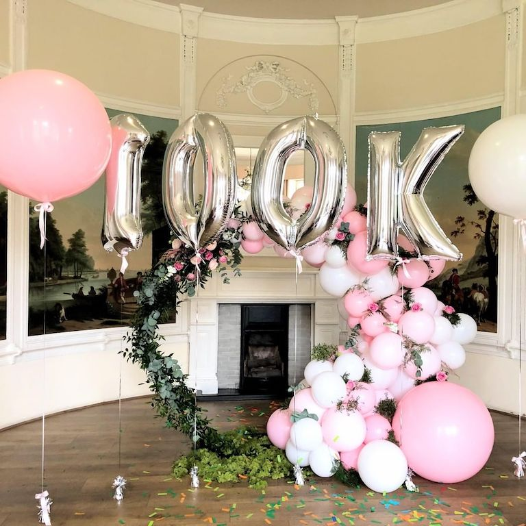 100k Party Balloons