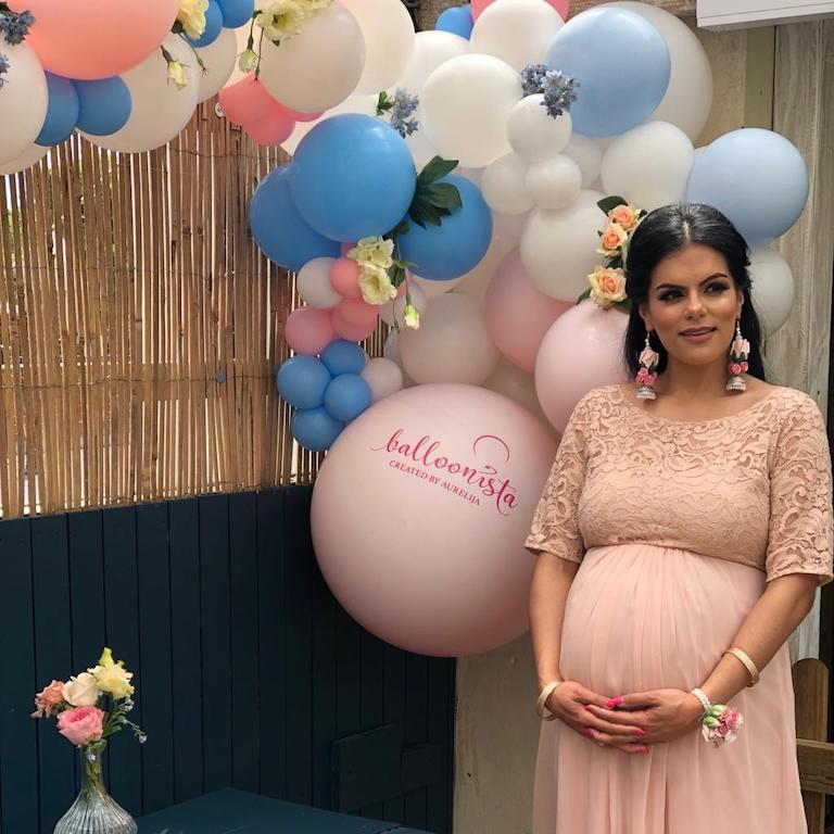 Baby Shower Multi Colour Balloons