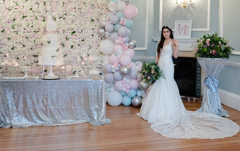Chelsea wedding balloons