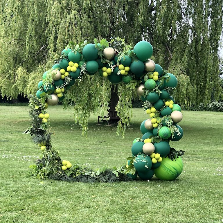 Spring Wedding Balloon Arch