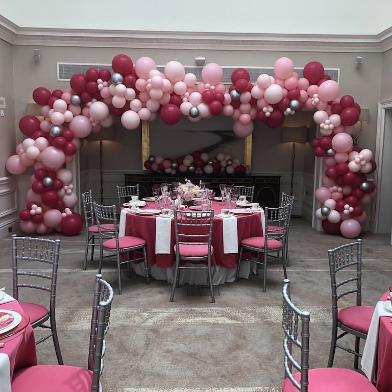 Event Pink Red Balloons