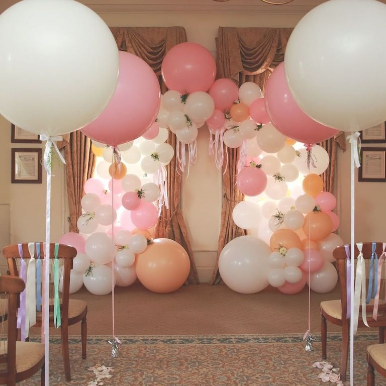 Pastel Wedding Balloonista