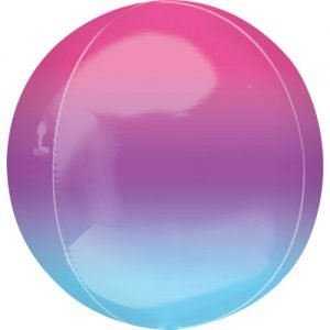 Balloonista 16 Inch Ombre Purple & Blue Foil Balloon 1