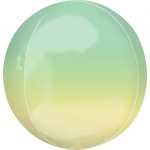 Balloonista 16 Inch Ombre Yellow & Green 9