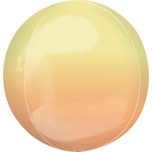 Balloonista 16 Inch Ombre Yellow & Orange Foil Balloon 10