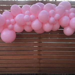 Princess Party Pink Balloon Cloud