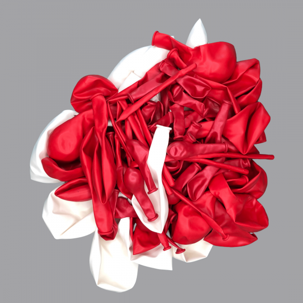 Balloonista White and red balloon kit flat football.png
