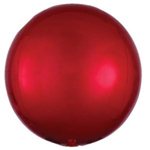 Balloonista 16 Inch Red Orbz Balloon 4