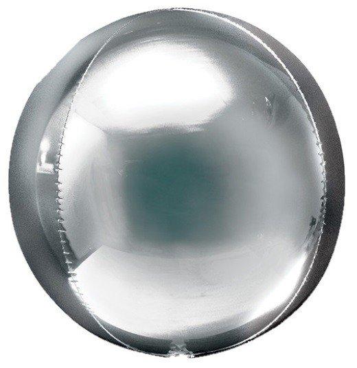Balloonista 16 Inch Silver Orbz Balloon 5