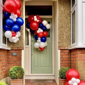 VE Day stay at home street party balloon kit