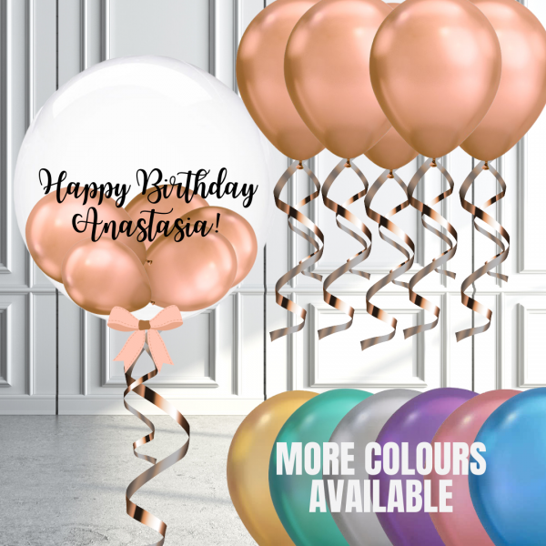Balloonista Bubble And Latex Balloon Package Various Colours Available