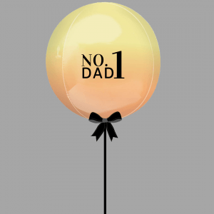 Balloonista Fathers Day Balloon No 1 Dad
