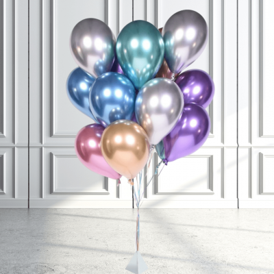 Balloonista Qualatex Chrome Cluster (2)