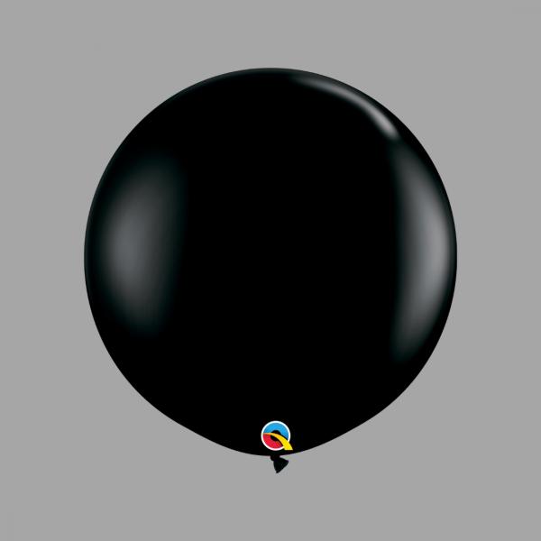 Balloonista Qualatex Giant 3 Foot Balloon Black