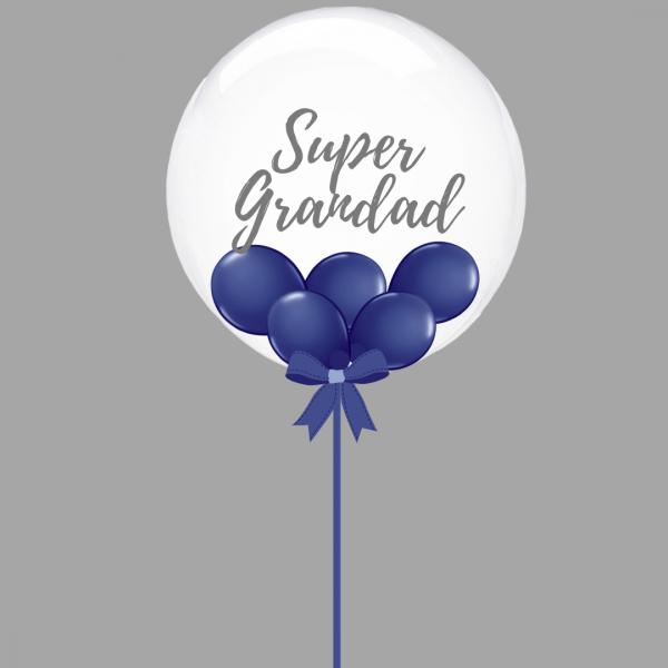 Balloonista Super Grandad Balloon Navy