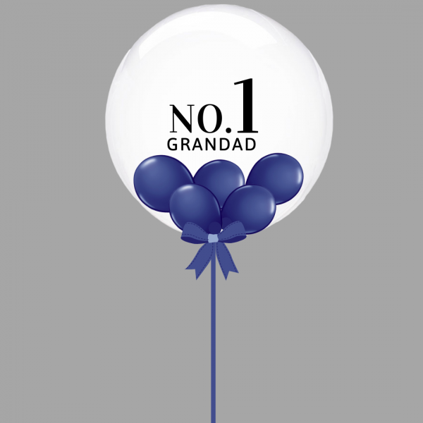 Balloonista Navy No 1 Grandad Balloon