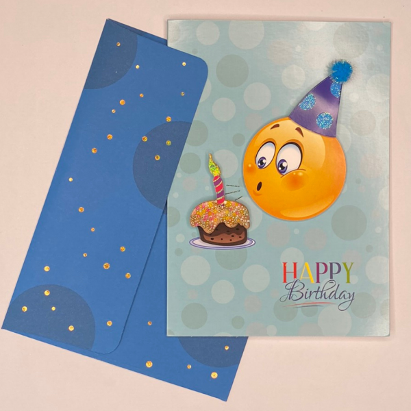Luxury 3d Celebration Card Birthday Congratulations Card Message May Every Wish Come True