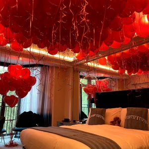 Balloonista Hotel Marriage Proposal Valentines Balloons