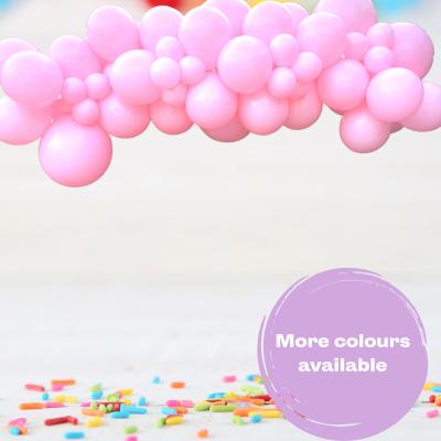 Balloonista Pink Princess Garland Cloud Inflated