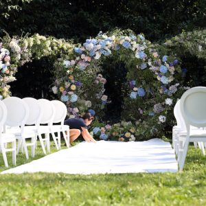 Wedding Flora Moongatel Arch Decor