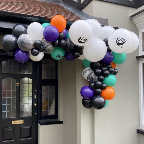 Halloween Corner Garland Balloonista