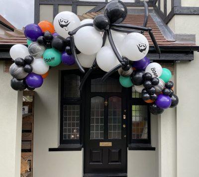 Halloween Single 2.4m Garland With Spider Balloonista