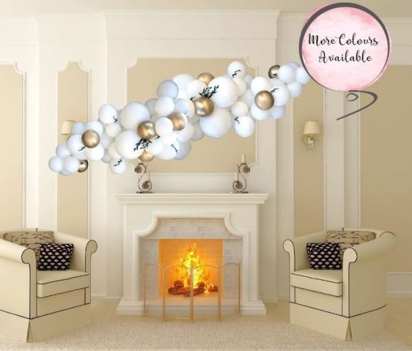 White And Custom Colour Fireside