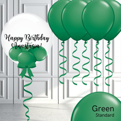Balloonista Bubble And Latex Balloon Package Green