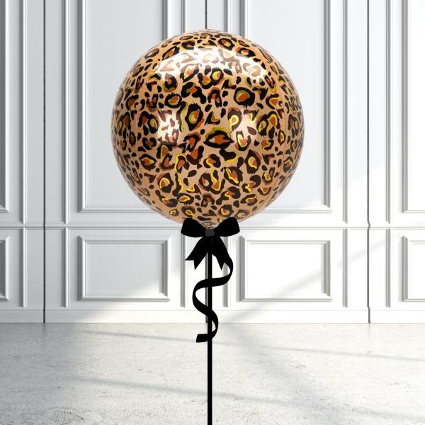 Balloonista Designed Orbz Animal Print Balloons Cheetah Leopard