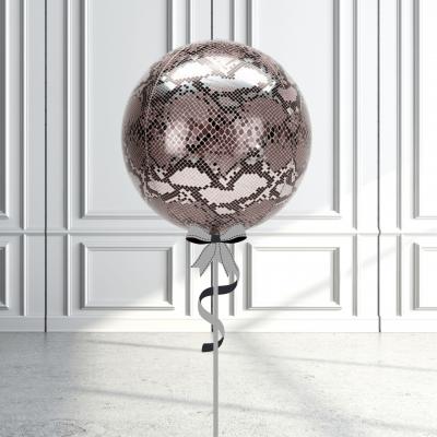 Balloonista Designed Orbz Animal Print Balloons Snake