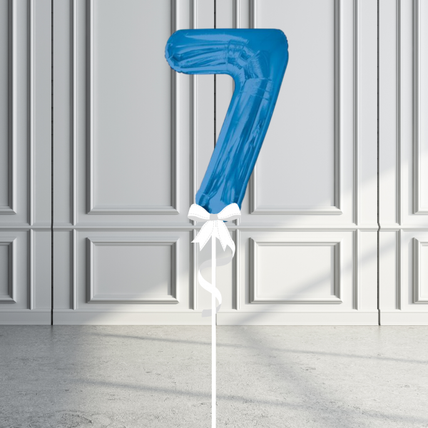 Balloonista Giant Supershape 34in Number Blue