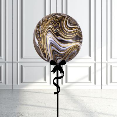 Balloonista Marblez Orbz Black + Gold