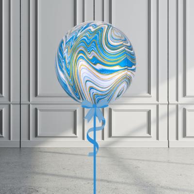 Balloonista Marblez Orbz Blue + Gold