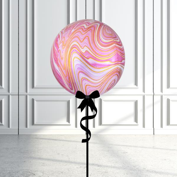 Balloonista Marblez Orbz Pink + Gold