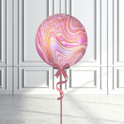 Balloonista Marblez Orbz Pink + Gold.