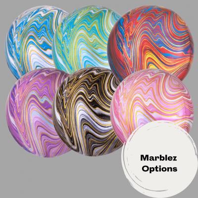 Balloonista Marblez Orbz Various Colours Amscan