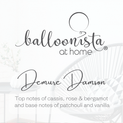 Balloonista At Home Luxury Candle Damure Damson