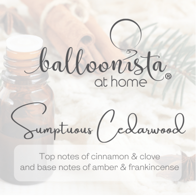 Balloonista At Home Luxury Candle Sumptuous Cedarwood