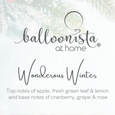 Balloonista At Home Luxury Candle Wonderous Winter