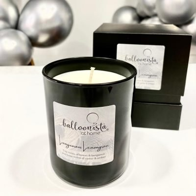 Longourous Lemongrass Balloonista At Home Luxury Candle.1