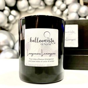 Longourous Lemongrass Balloonista At Home Luxury Candle.2