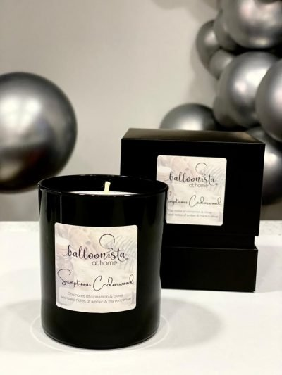 Sumptious Cedarwood Balloonista At Home Luxury Candle