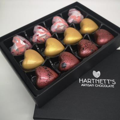 hearth shaped valentines chocolates