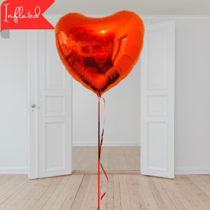 large valentines heart balloon