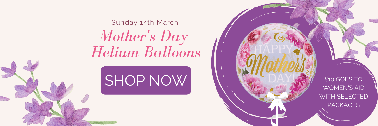balloonista mothers day banner 2021