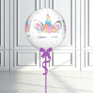 Balloonista Unicorn Orbz Delivered Inflated