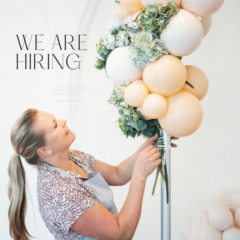 balloonista career advert job hiring ad
