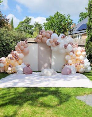 balloonista garden setup