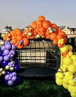 balloonista rooftop balloons